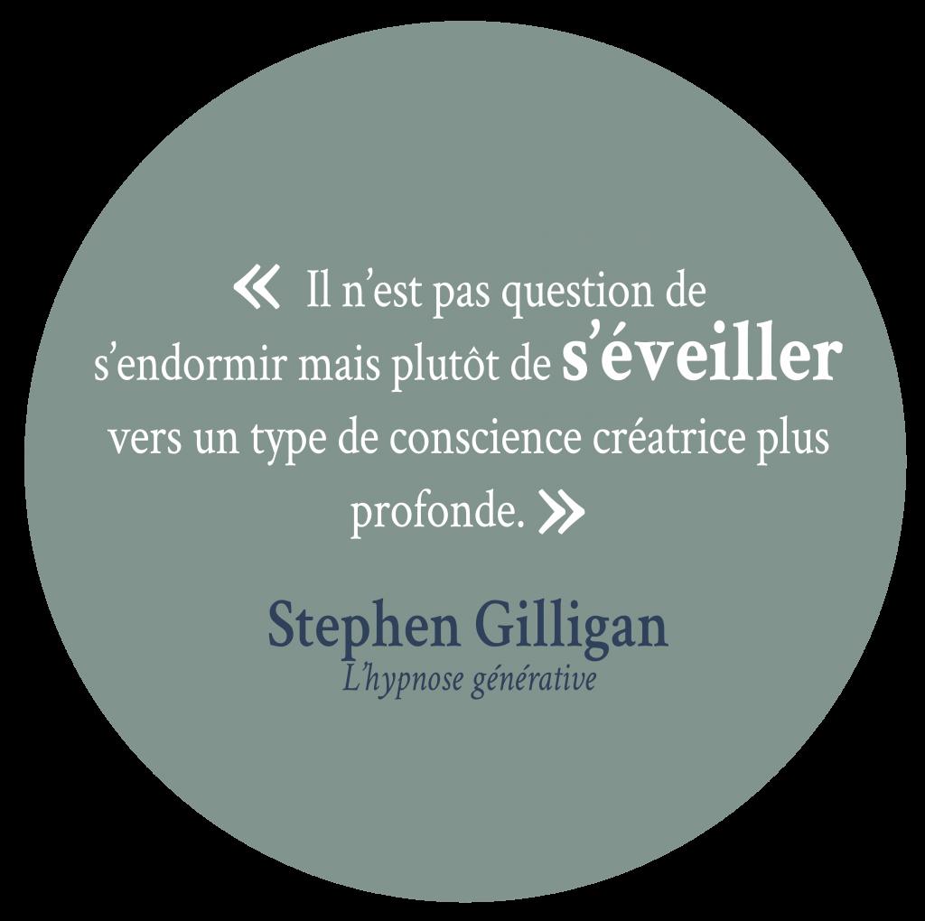 Citation Gilligan Solène Daoudal Hypnose Rennes Guichen